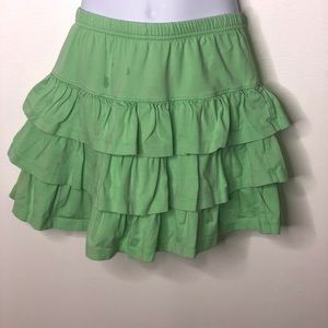 Hanna Andersson tiered scooter skirt pull on